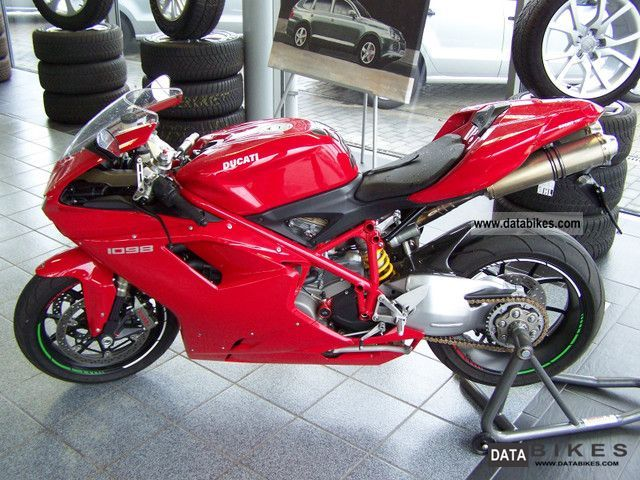 2009 Ducati  1098, first Hand Motorcycle Sports/Super Sports Bike photo