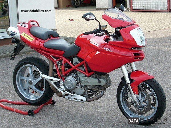 2003 Ducati  Multistrada 1000 Motorcycle Enduro/Touring Enduro photo