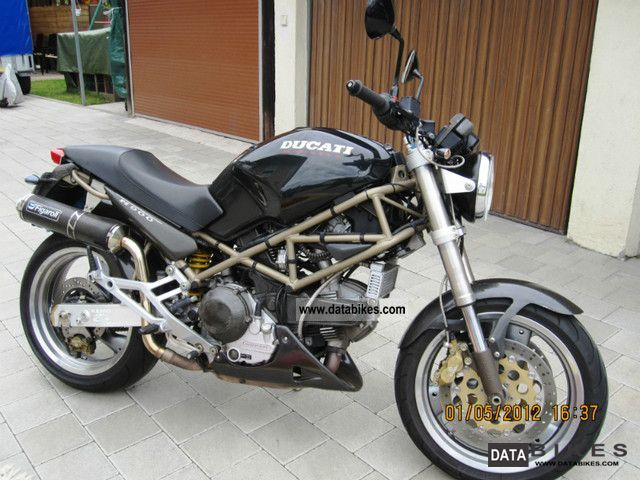 1997 Ducati  Monster 900 Motorcycle Naked Bike photo
