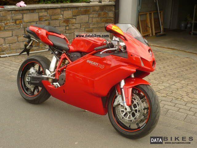 2007 Ducati  749 Motorcycle Sports/Super Sports Bike photo