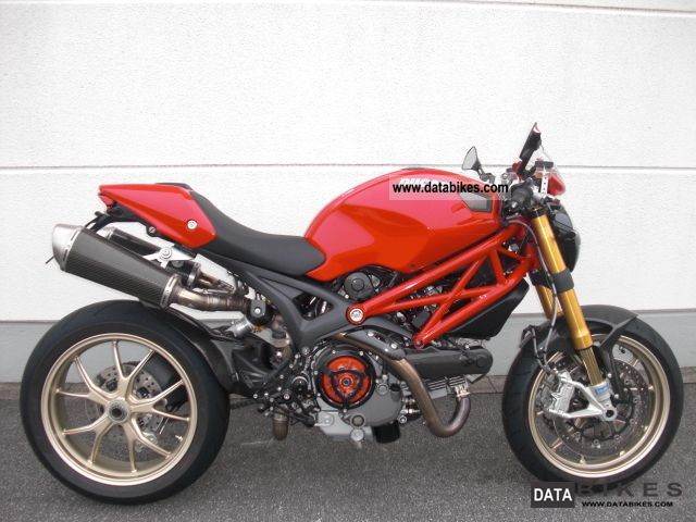 Ducati  Monster 1100S ABS 2010 Sports/Super Sports Bike photo