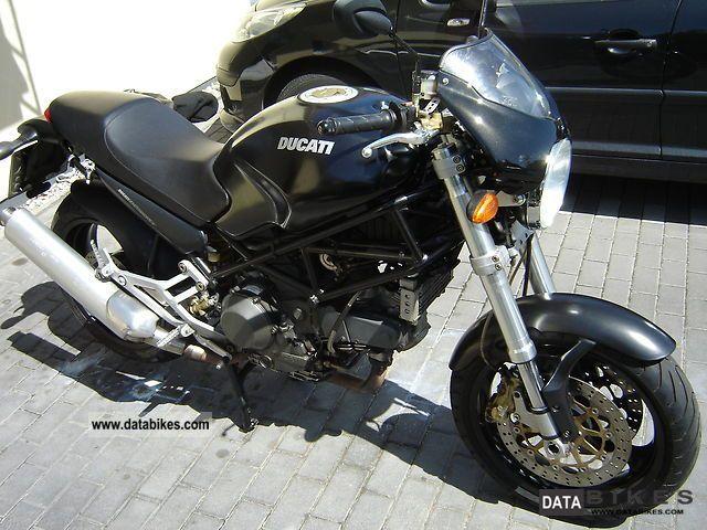 Ducati  Monster 900 i.e. Dark 2000 Naked Bike photo