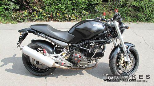2001 Ducati  Monster 900 Motorcycle Naked Bike photo