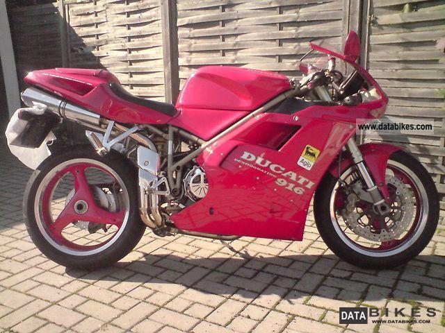 1997 Ducati  916 biposto Motorcycle Racing photo