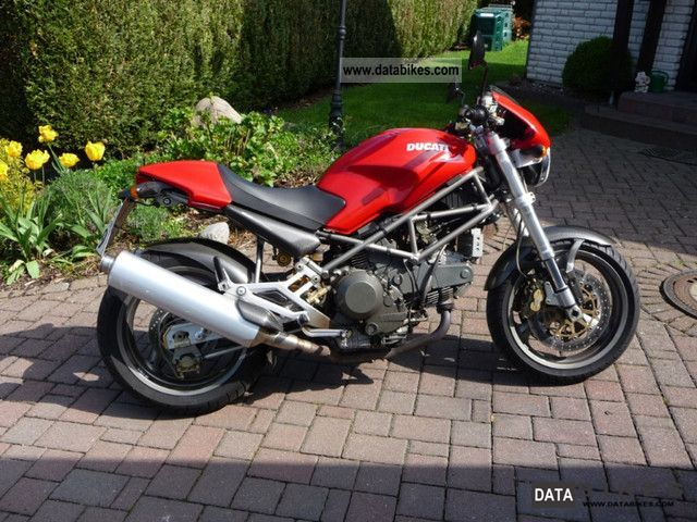 2000 Ducati  Monster M 900 S i.e. Motorcycle Motorcycle photo