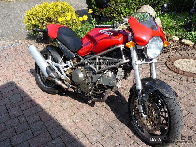 Ducati Monster 900 S.i.e 900 cm³ 2000 - Jyväskylä