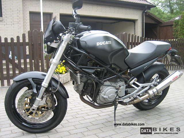 2001 Ducati  Monster Dark 750 TOP CONDITION Motorcycle Motorcycle photo