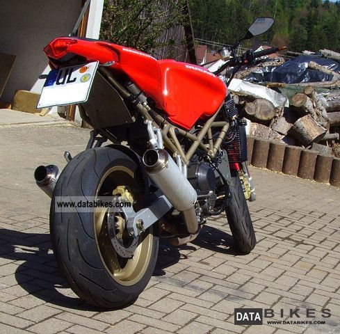 1998 Ducati  916 streetfighter Motorcycle Naked Bike photo
