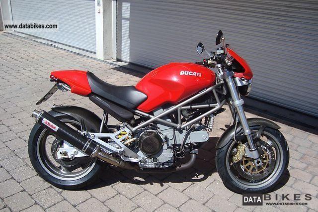 2002 Ducati  Monster S 900.i.e. Motorcycle Naked Bike photo