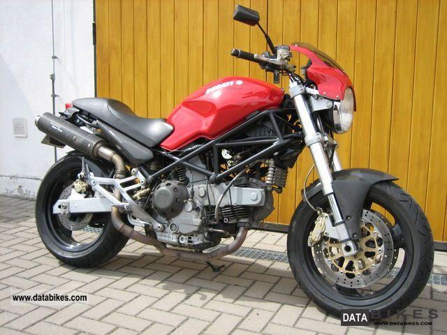 2001 Ducati  Monster 900i.e. Motorcycle Naked Bike photo