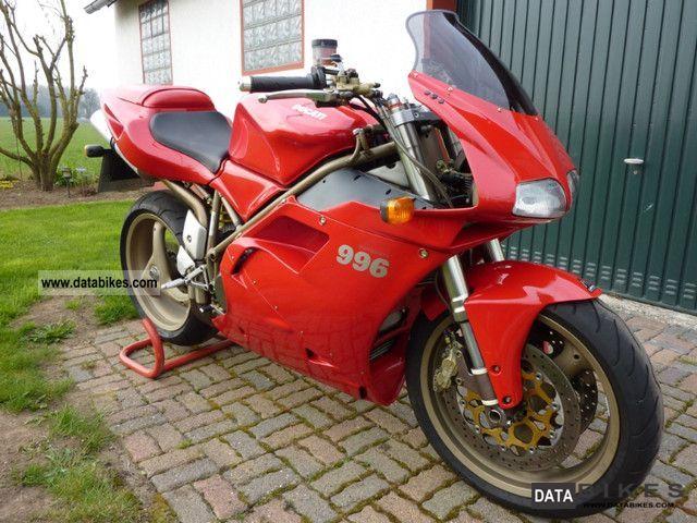 1999 Ducati  996 Motorcycle Sports/Super Sports Bike photo