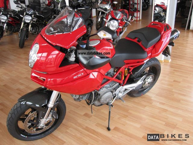 2009 Ducati  Multistrada 1100, first Attention Motorcycle Motorcycle photo