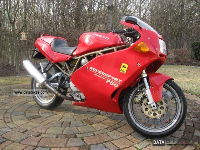 Ducati  750 SS Super Sport in top condition 1995 Sports/Super Sports Bike photo