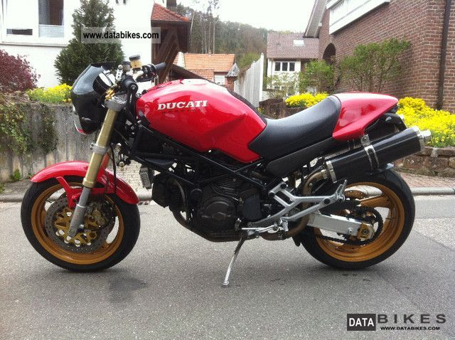 1998 Ducati  Monster 900 S Motorcycle Naked Bike photo