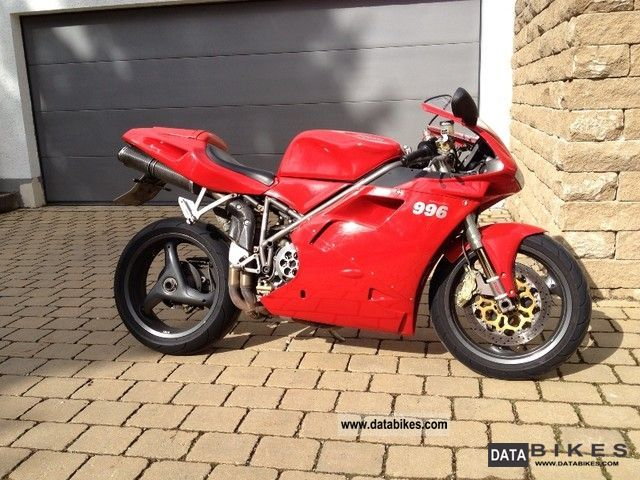 1999 Ducati  996 S Biposto Motorcycle Sports/Super Sports Bike photo