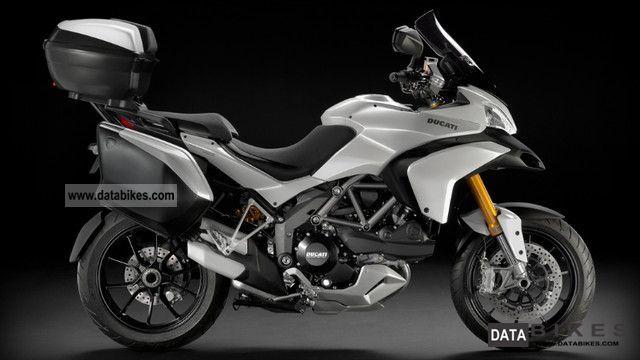 2011 Ducati  Multistrada 1200 S Touring ABS white ** immediately Li Motorcycle Enduro/Touring Enduro photo