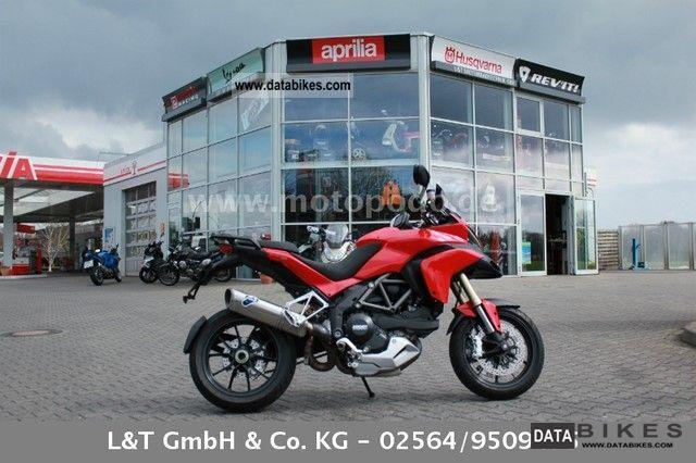 2010 Ducati  Multistrada 1200 ABS Termignoni Motorcycle Motorcycle photo