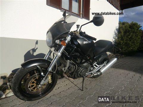 Ducati  I.e. M 900 Dark 2000 Naked Bike photo