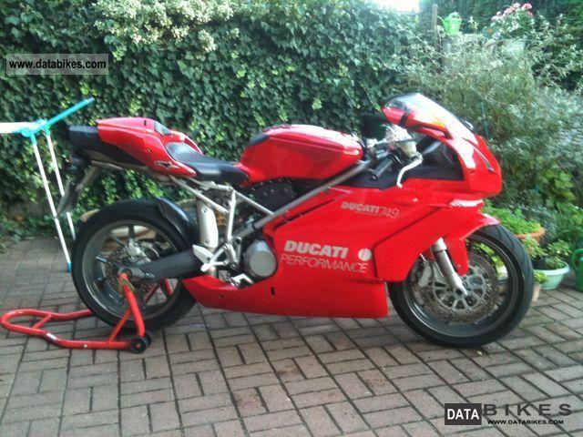 2006 Ducati  749 Motorcycle Sports/Super Sports Bike photo
