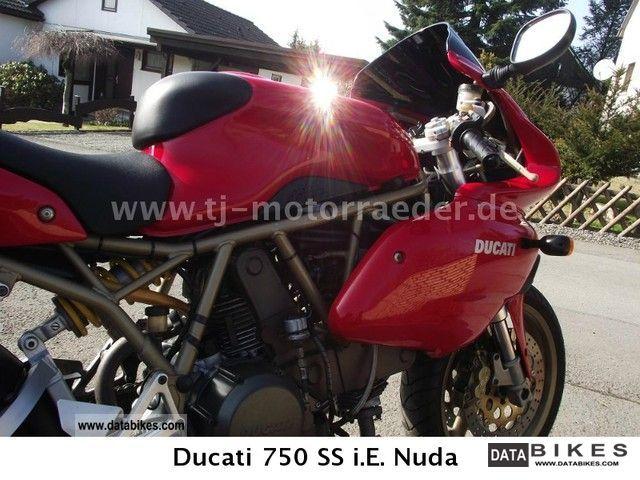 1999 Ducati  750 SS i.E. Super Sport, engine rev. - 1 HAND! - Motorcycle Sports/Super Sports Bike photo