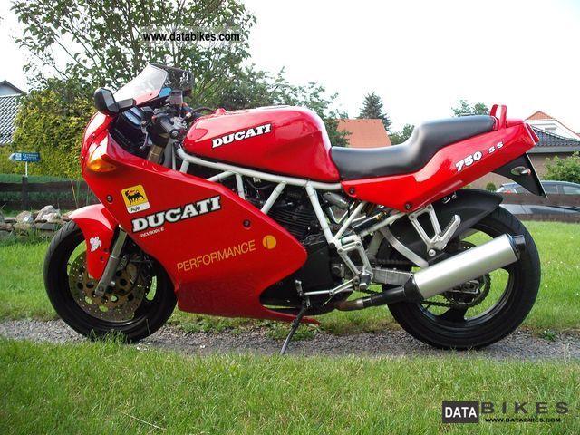 1992 Ducati  750 SS, Extras! HU / AU new! Motorcycle Sports/Super Sports Bike photo