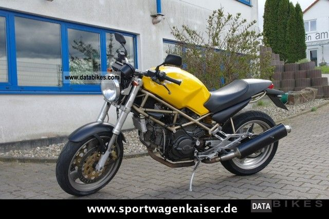 1999 Ducati  Monster 750 M 750 *** ** *** Tüv new low! Motorcycle Naked Bike photo