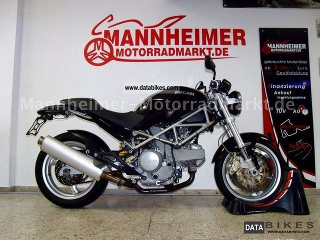 Ducati  Monster 620 i.E. new ZR 12 M Warranty 2004 Naked Bike photo