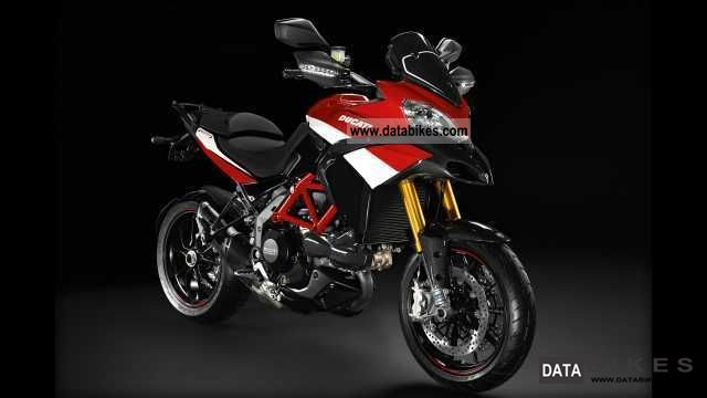 2012 Ducati  Multistrada, Multistrada 1200 Pikes Peak lieferb Motorcycle Sport Touring Motorcycles photo