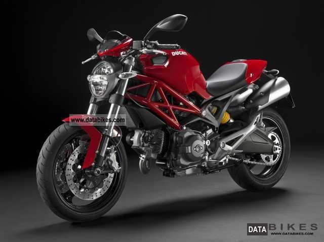2012 Ducati  Monster, Monster 696 + ABS lowering mà ¶ 75cm Motorcycle Naked Bike photo