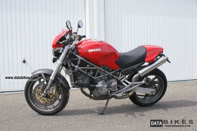 2001 Ducati  Monster S4 Motorcycle Sports/Super Sports Bike photo