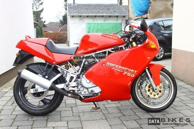 1993 Ducati  SS 750 Motorcycle Sports/Super Sports Bike photo