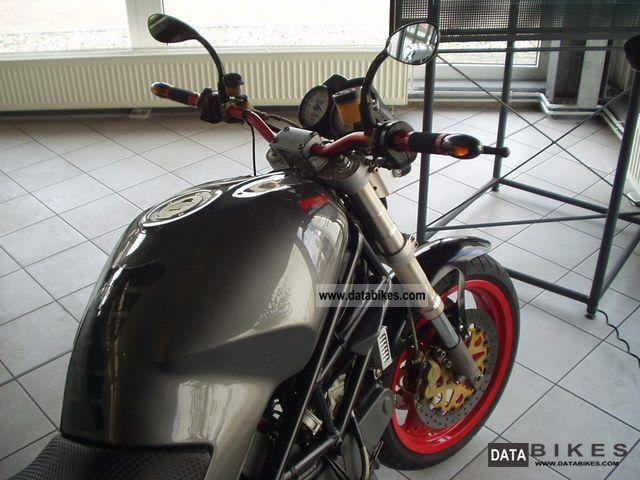 1999 Ducati  Monster 900 - Carbon Optics / Belt 2011 Motorcycle Naked Bike photo