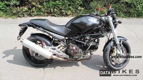 2001 Ducati  M 900ie Dark Motorcycle Motorcycle photo