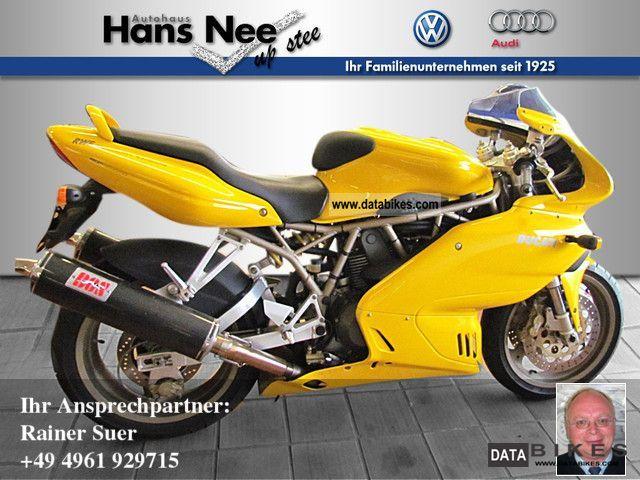 1999 Ducati  900 SS Motorcycle Sports/Super Sports Bike photo