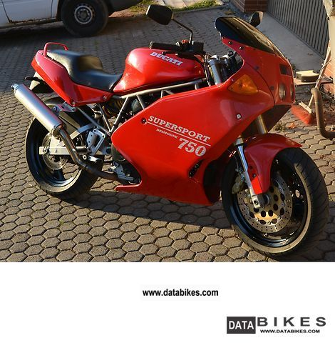 1993 Ducati  SUPERSPORT 750 Motorcycle Sports/Super Sports Bike photo