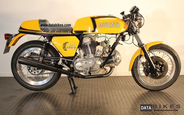Ducati  750 GT 1972 Vintage, Classic and Old Bikes photo