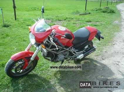 2003 Ducati  Monster 900 Motorcycle Motorcycle photo