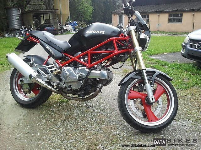 1995 Ducati  m 600 monster Motorcycle Naked Bike photo