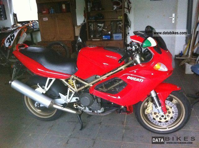 Ducati  St4 1999 Motorcycle photo