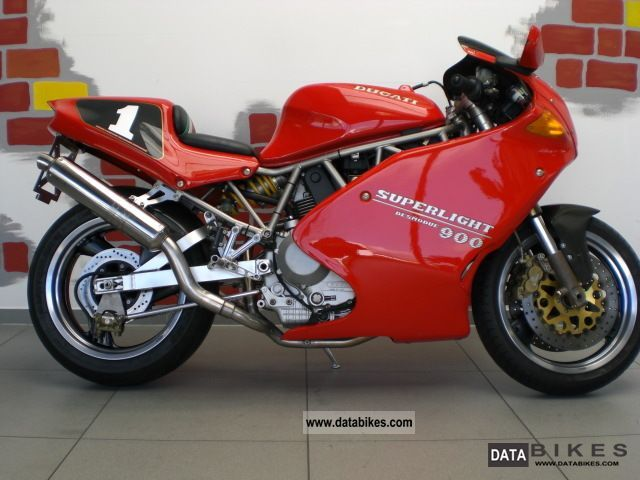 1995 Ducati  900 Super Light III lots of accessories, including service Motorcycle Motorcycle photo