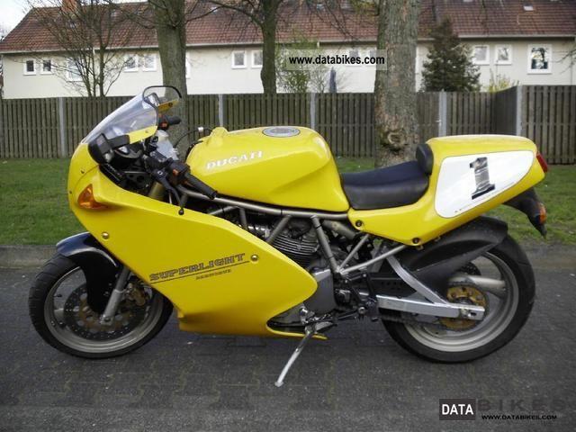 1995 Ducati  600SS Motorcycle Racing photo