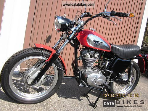 Ducati  350 Scrambler 1972 Vintage, Classic and Old Bikes photo