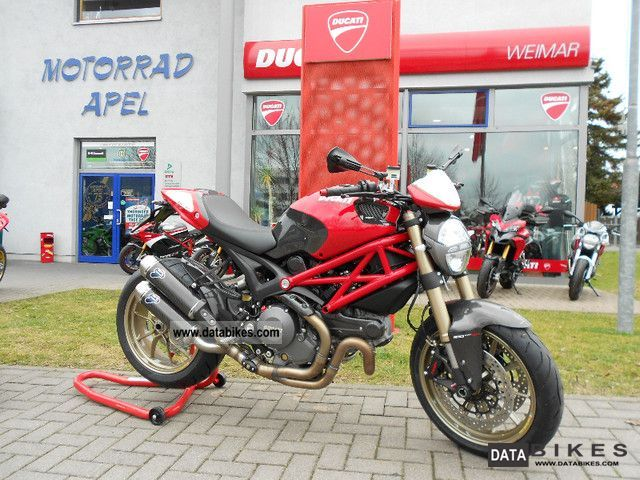 Ducati  Monster 1100 EVO SP Öhlins EUROPE SHIPPING 2011 Naked Bike photo