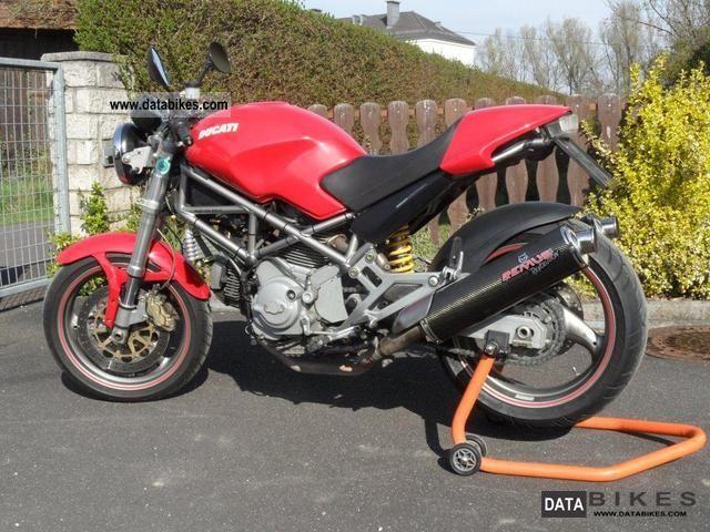2002 Ducati  Monster 900 i.e. Motorcycle Naked Bike photo