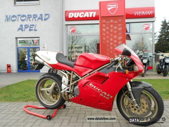 1995 Ducati  SPO-916 with Certificate Motorcycle Sports/Super Sports Bike photo