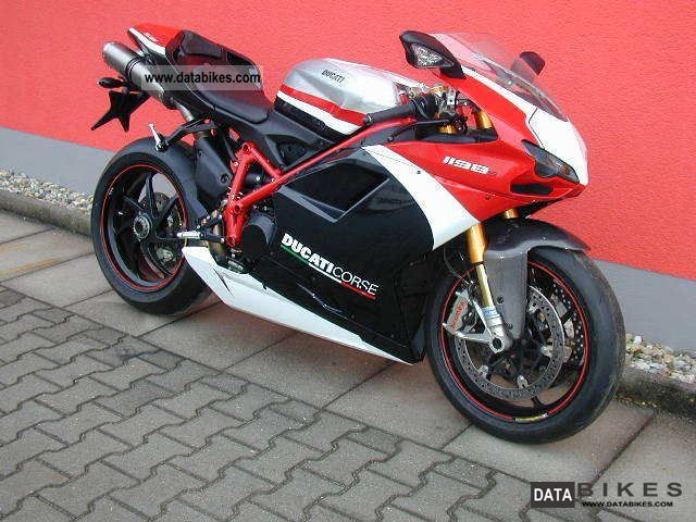 2011 Ducati  1198SP Corse paint set Motorcycle Sports/Super Sports Bike photo