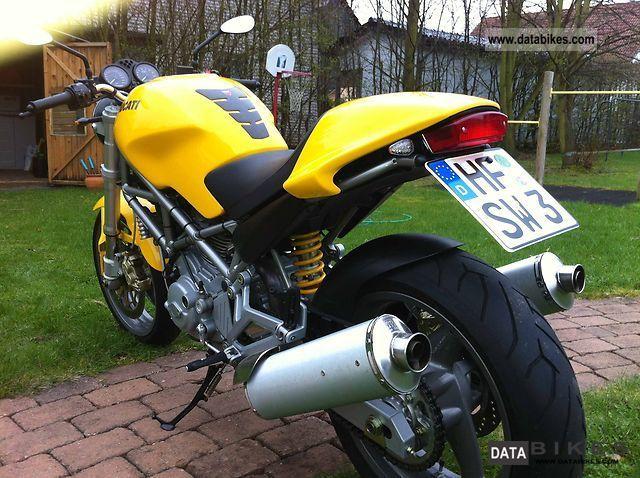 2004 Ducati  Monster Motorcycle Naked Bike photo