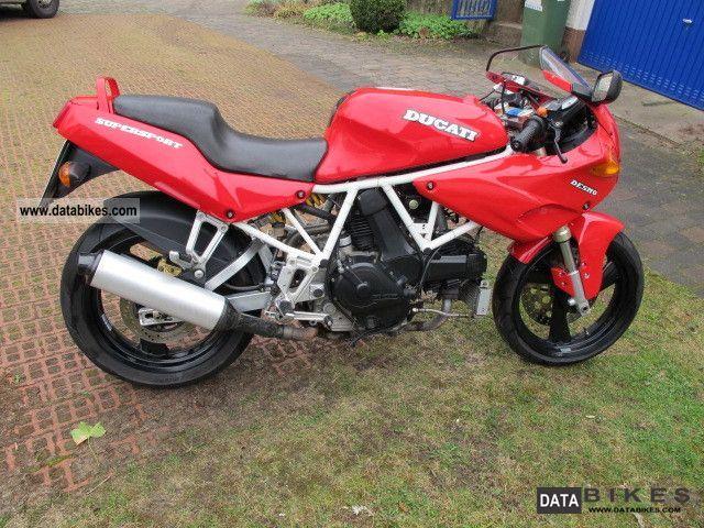 1992 Ducati  750 SS Nuda Motorcycle Sports/Super Sports Bike photo