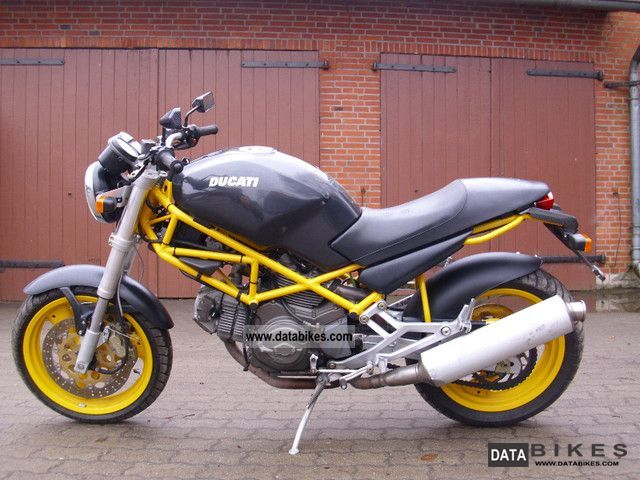 1998 Ducati  M600 Motorcycle Naked Bike photo