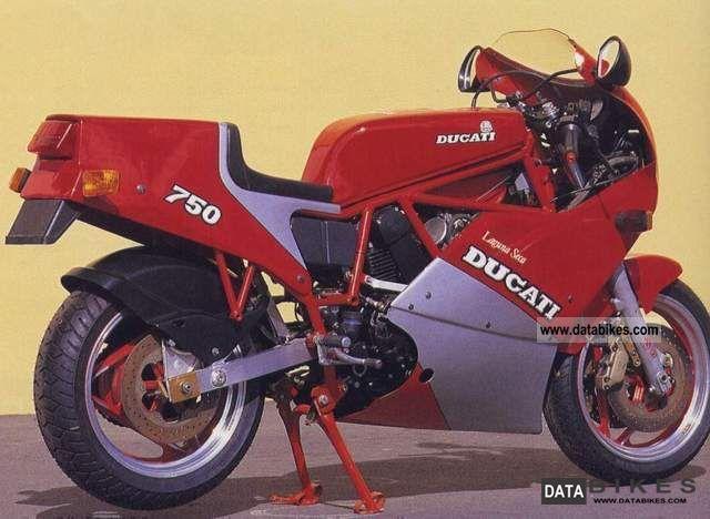 Ducati  750 F1 Laguna Seca replica Luccinelli 1987 Sports/Super Sports Bike photo